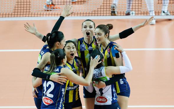Voleybolda şampiyon Fenerbahçe!