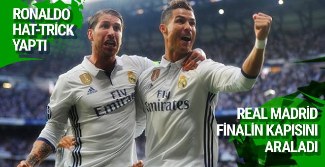 Real Madrid Şampiyonlar Ligi'nde final kapısını araladı
