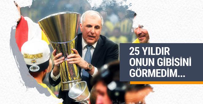 Zeljko Obradovic'ten şampiyonluk açıklaması