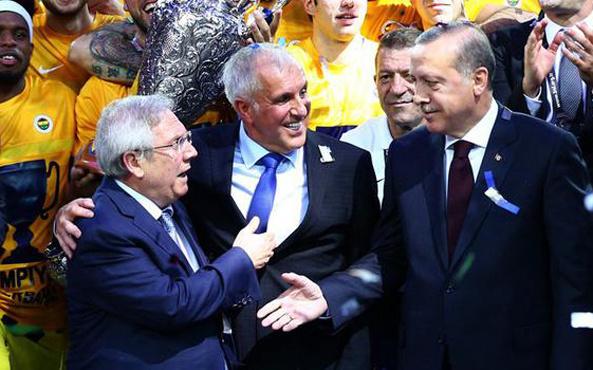 Cumhurbaşkanı Erdoğan'dan Obradovic'e tebrik