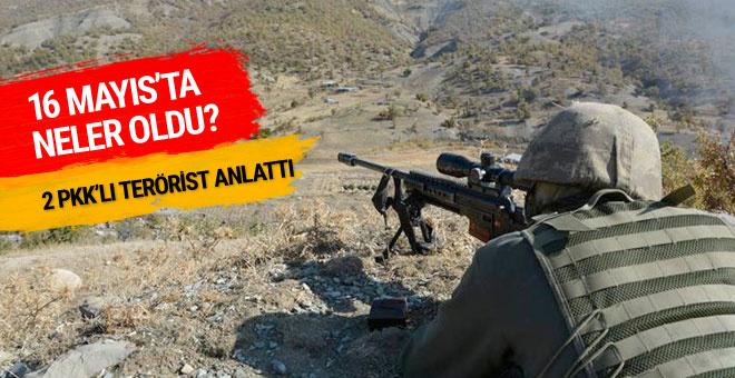 2 PKK'lı teröristten ihbar hattına telefon