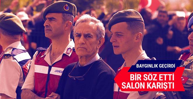 Akın Öztürk'ün ilk sözleri ortalık karışınca bayıldı!