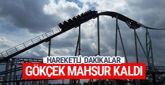 Ankara'da korku dolu anlar Melih Gökçek havada mahsur kaldı