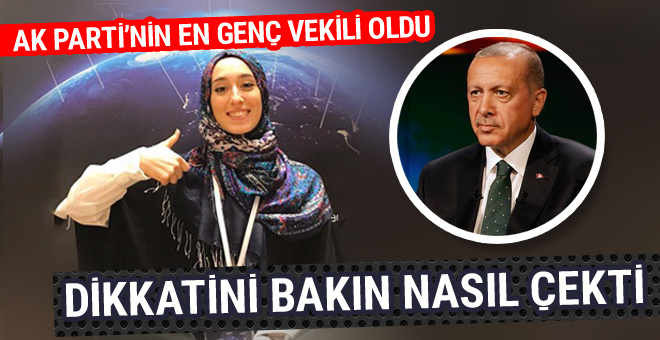 Rümeysa Kadak kimdir Erdoğan'ın dikkatini bakın nasıl çekmiş!