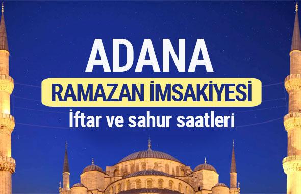 Adana Ramazan imsakiyesi 2017