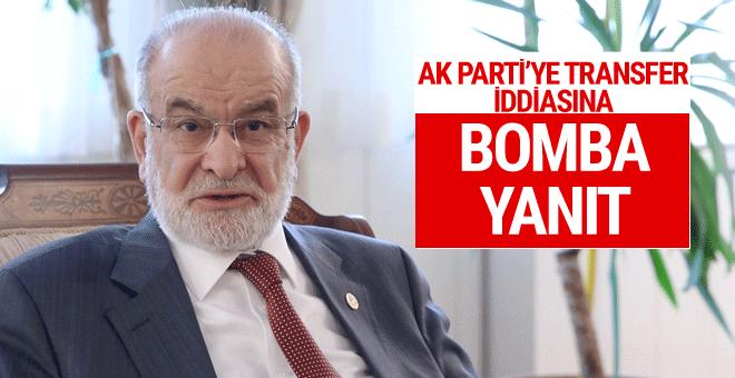 Saadet Partisi'nden AK Parti'ye transfer iddiasına bomba yanıt