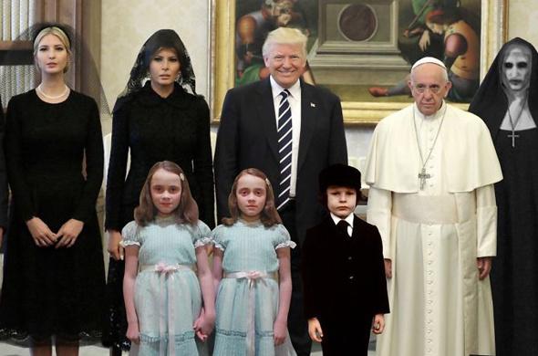 Trump ailesi ile böyle dalga geçtiler