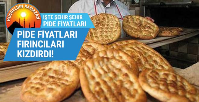 İl il ramazan pidesi fiyatları