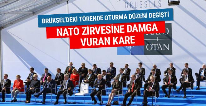NATO Karargahı'nda oturma düzeni değişti