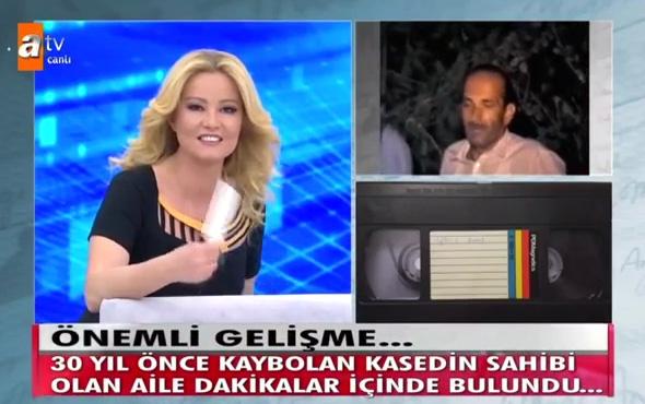 Türk Televizyon tarihinde bir ilk! 30 yıl sonra düğün kasetini buldu