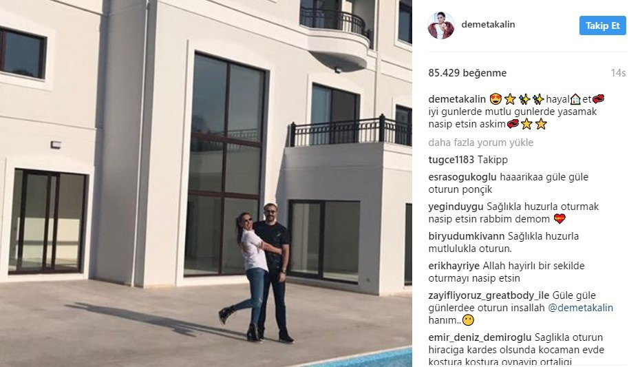 Demet Akalın'ın yeni villasına bakın fiyatı daha bomba