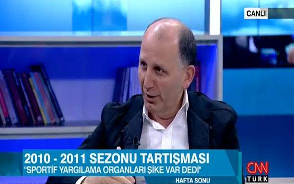 Muharrem Usta: Fenerbahçe'nin şike yaptığı tescillendi