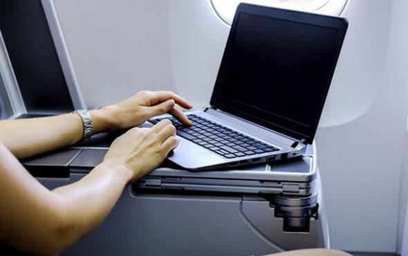 Bütün uçuşlara laptop yasağı uygulayabilir