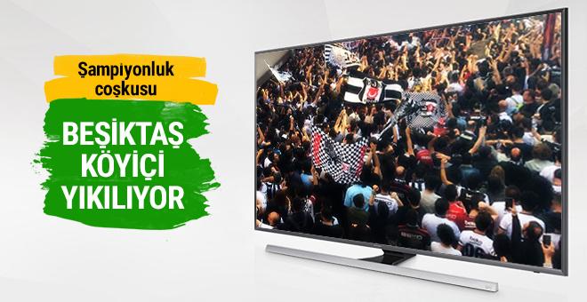 Beşiktaş Köyiçi'nde büyük coşku
