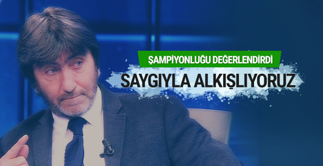 Rıdvan Dilmen: Saygıyla alkışlıyoruz Beşiktaş'ı