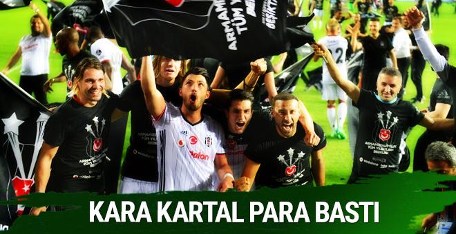 Beşiktaş para bastı! Dev gelir...