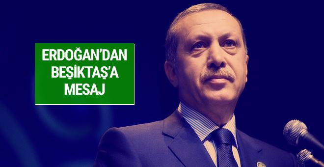 Cumhurbaşkanı Erdoğan şampiyon olan Beşiktaş'ı tebrik etti