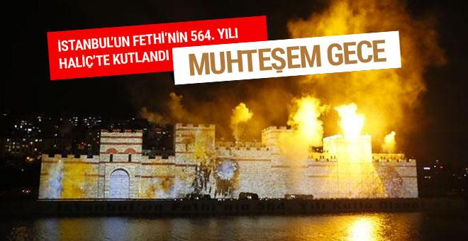 İstanbul'un Fethi'nin 564. yılı kutlandı