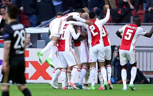Ajax Olympique Lyon'u rahat geçti