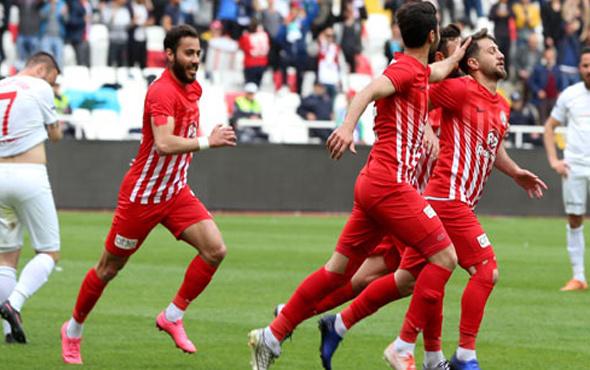 Sivas Belediyespor ile Amedspor beraberlikle yetindi