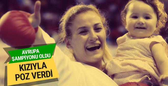 Avrupa Karate Şampiyonası'nda Tuba Yakan'dan büyük başarı