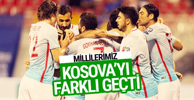 Kosova-Türkiye maçı golleri ve geniş özeti