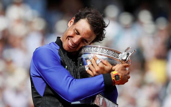 Fransa Açık şampiyonu Rafael Nadal