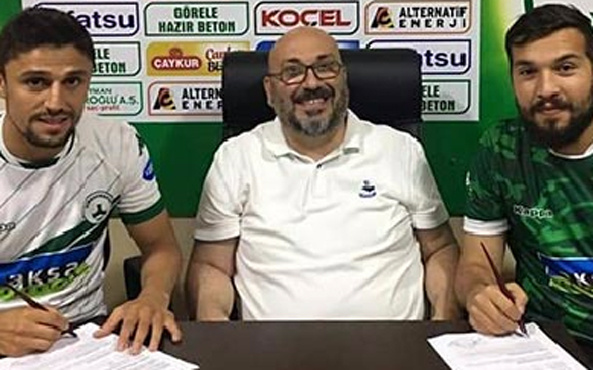 Giresunspor 2 oyuncusuyla sözleşme uzattı