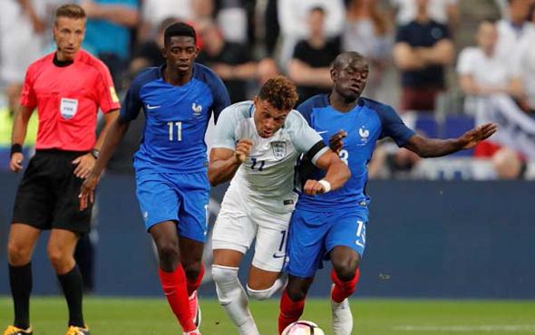 Gol düellosunda kazanan Fransa