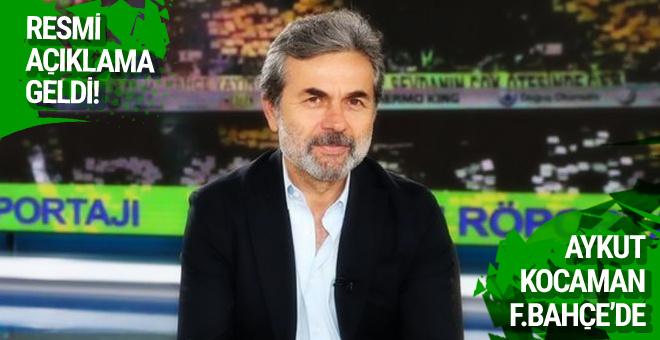 Fenerbahçe Aykut Kocaman'ı açıkladı