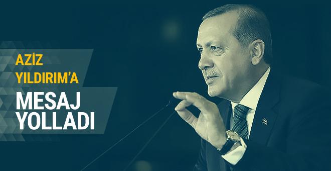 Cumhurbaşkanı Erdoğan'dan Aziz Yıldırım'a mesaj