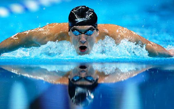 Michael Phelps'e zorlu rakip