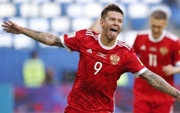 Konfederasyonlar Kupası'nda açılışı Rusya yaptı