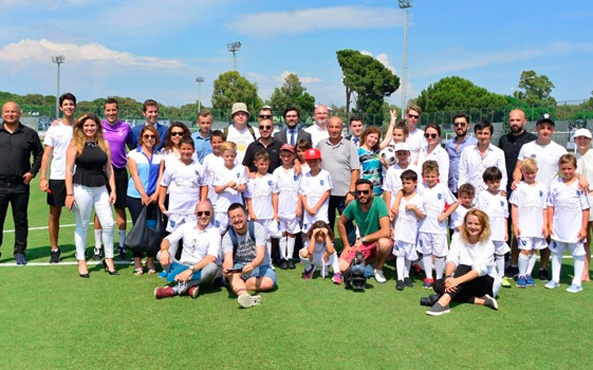 Real Madrid Antalya'da futbol okulu açtı