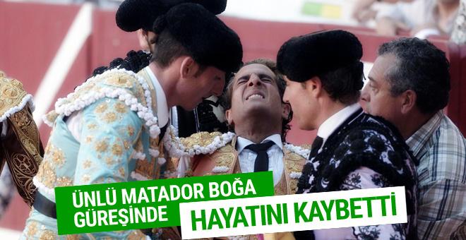 İspanyol matador İvan Fandino'yu boynuz darbeleri öldürdü
