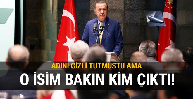 Erdoğan'ın ismini vermediği işadamı bakın kim çıktı!