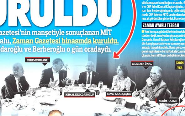 Dumanlı Kılıçdaroğlu ve Berberoğlu! Güneş'in şok iddiası