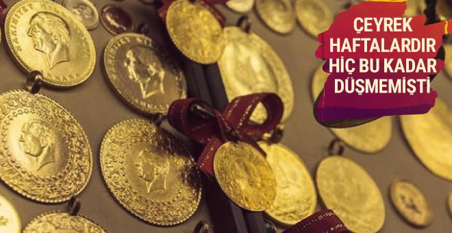 Gram altın fiyatı dip yaptı bugün dolar kaç TL?