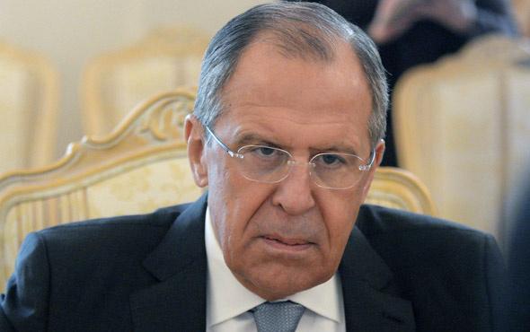 Lavrov'dan Suriye'nin uçağını düşüren ABD'ye tepki