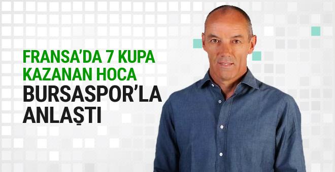 Bursaspor'un yeni teknik direktörü İstanbul'a geliyor