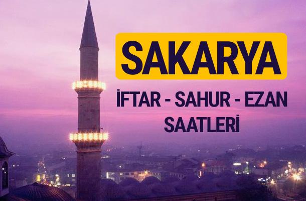 Sakarya iftar saati imsak vakti ve ezan saatleri