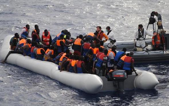 İspanya 24 saatte yüzlerce göçmeni kurtardı