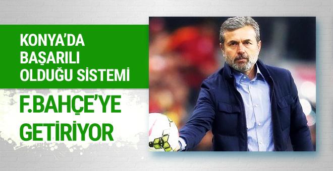 Aykut Kocaman Konya'daki sistemi F.Bahçe'ye getiriyor