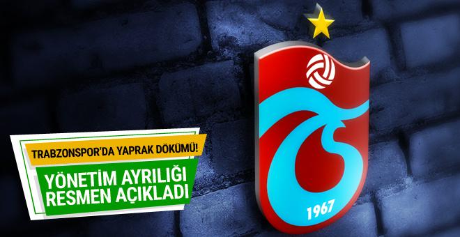 Trabzonspor'da yaprak dökümü!