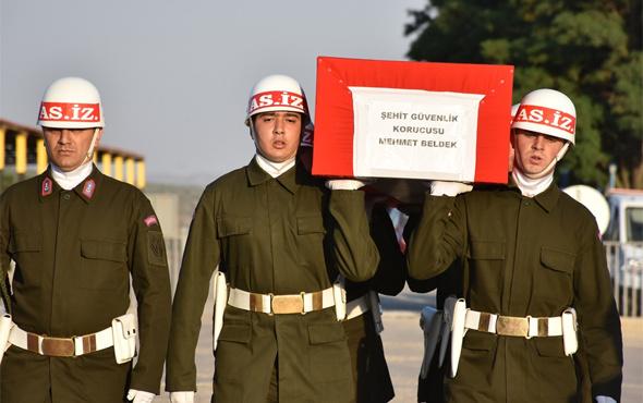 Şehit köy korucusu için Şırnak'ta tören