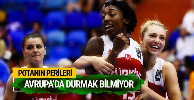 A Milli Kadın Basketbol Takımı Avrupa'da 3'te 3 yaptı