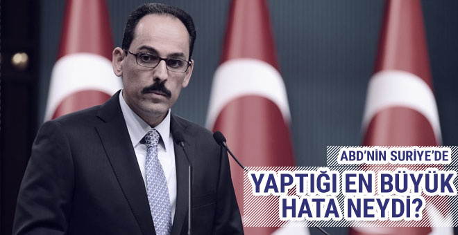Cumhurbaşkanlığı Sözcüsü Kalın'dan Rakka açıklaması!