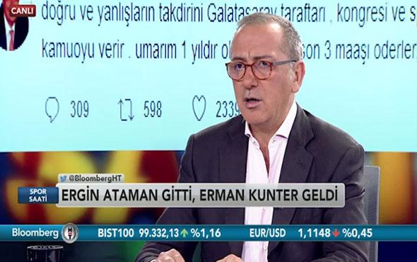 Fatih Altaylı: 'Galatasaraylı olmaktan utanç duyuyoruz'