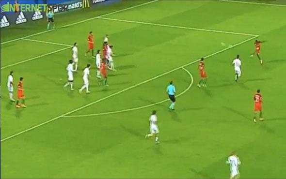 Bruma'nın İspanya'ya attığı müthiş gol