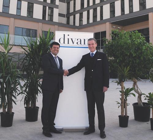 Divan'ın Cizre'deki Otel inşaatı hız kesmeden devam ediyor
